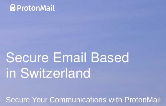 швейцарска електронна поща ProtonMail